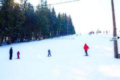 Sjezdovka u Lučanky slouží pouze pro naše hosty a nabízí ideální podmínky pro lyžařské kurzy.