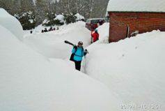 Náš první lyžařský kurz na Lučance...