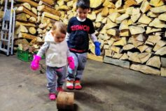 Topíme ekologicky novým kotlem na dřevoplyn a máme šikovné topiče!